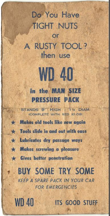 WD pressure pack