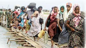 29 --Tamil stram refugees-Island