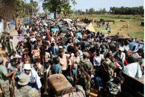 exodus -SL army pic in frontline -5 june 09