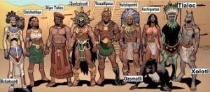 AZTEC GODS 1