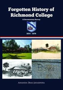 Richmond HISTORY COVER