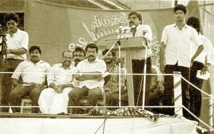 25- LTTE directorate on podium