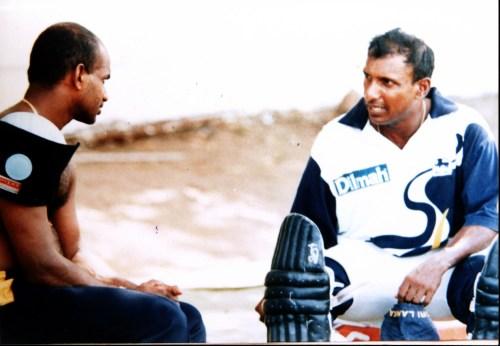 35a-Aravinda & Sanath in earnest conversation
