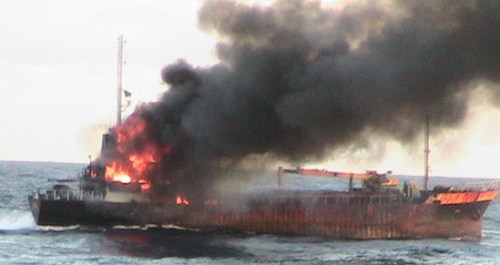68-Seishin sunk 10 Sept 2007