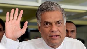 RANIL - Sri Lankan Prime Minister Ranil Wickremesinghe in Colombo on August 13, 2015 --  AFP