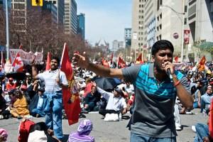 tamil agitation