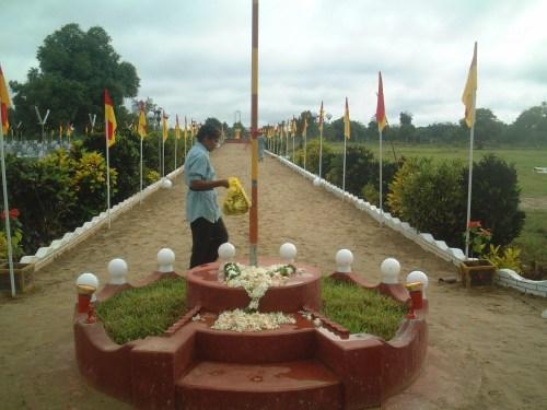 45a-Flagpole & Jasmine - Vavuniya 2