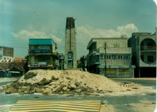 LTTE bunker in BCO town in 1990