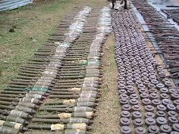 ARMS RECOVERED TOPPIGALA