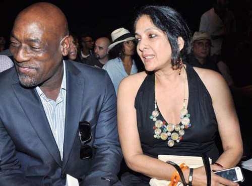 Neena-Gupta-with-crickter-Vivian-Richards-with-whom-she-has-daughter-Masaba