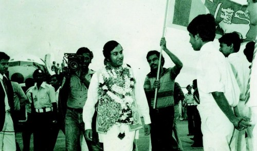 Gamini-Dissanayake feted 1981
