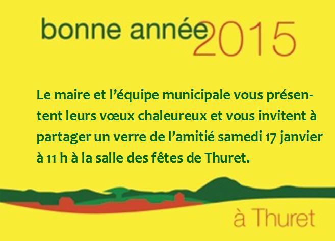 Voeux Thuret 2015