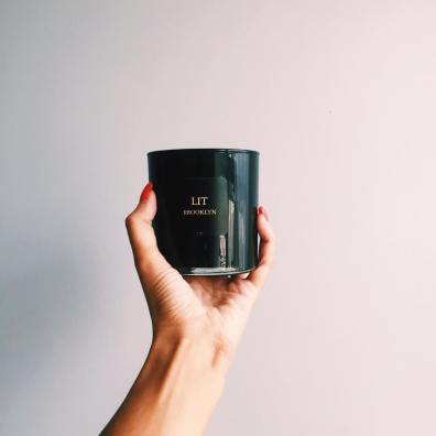 Image result for lit brooklyn candles