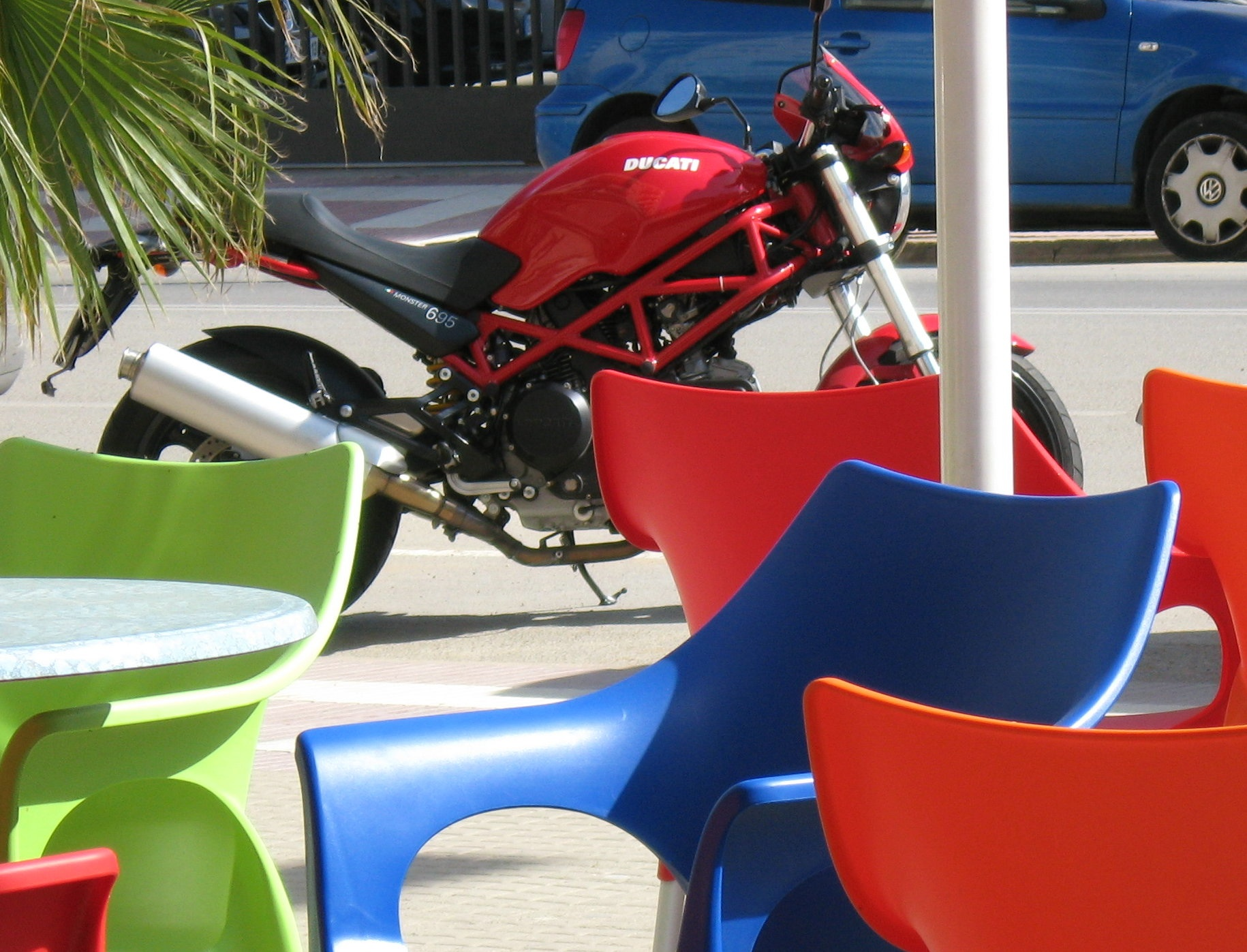 Ducati Monster In Cafe
