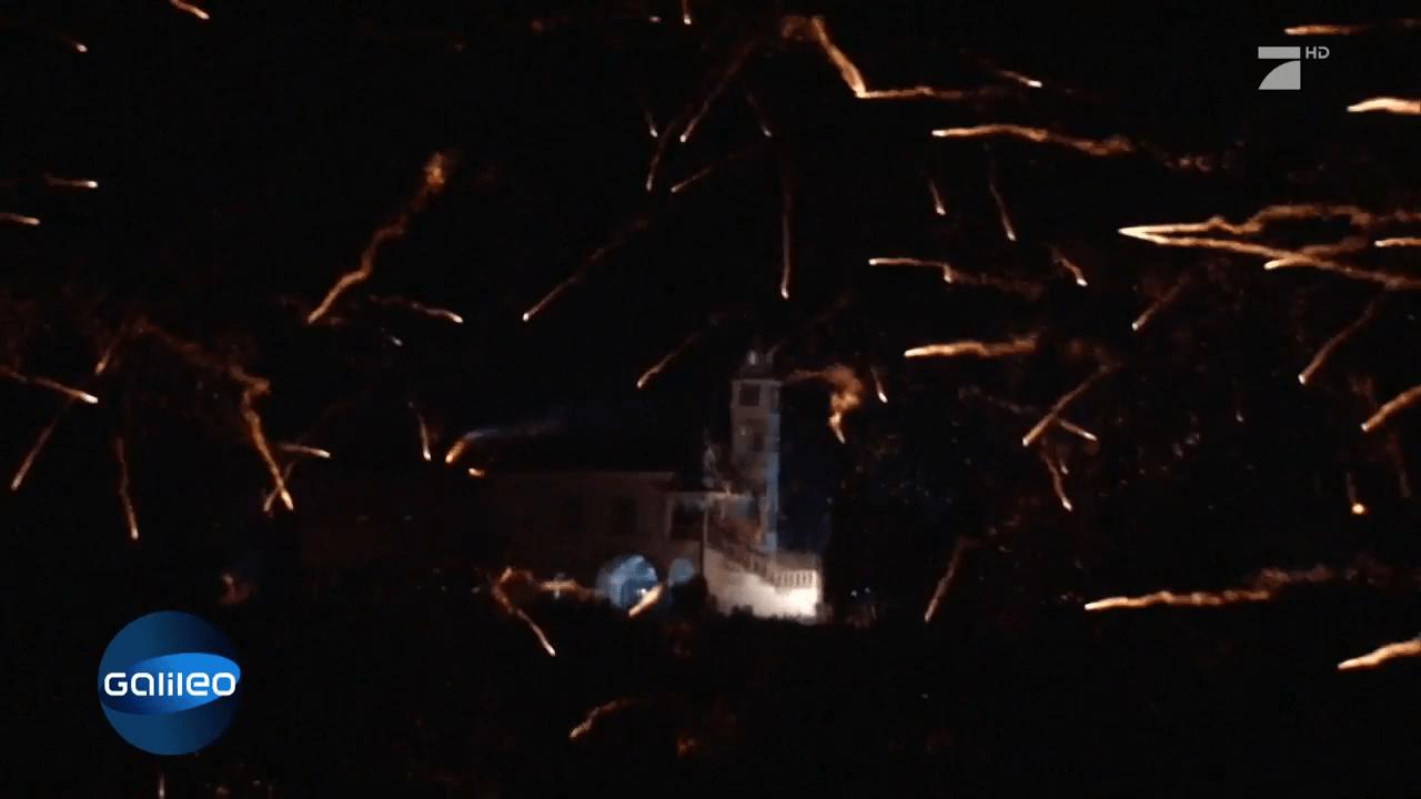 Der Raketenkampf zum Osterfest - ProSieben