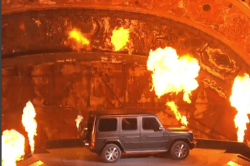 New G-Class is on fire!
