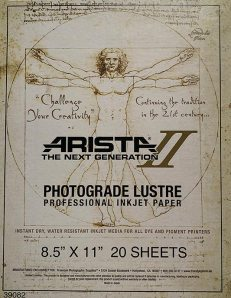 Arista-II Photograde Lustre Lustre/Satin Finish