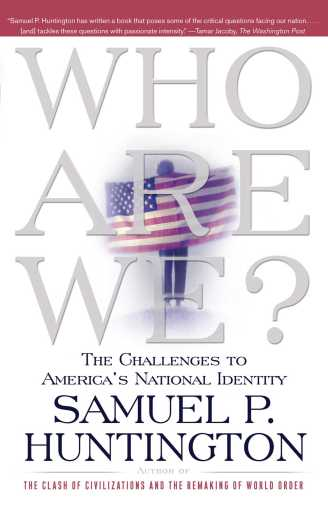 Who Are We, Huntingon Book Cover