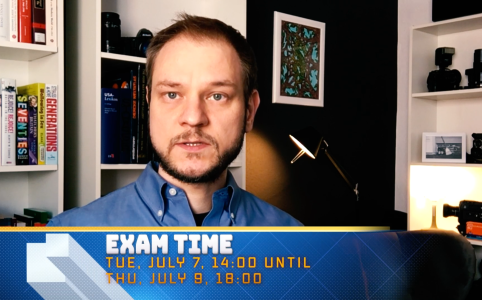 Image of Torsten Kathke in Video About Final Exam