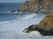 Cliffs Near Half Moon Bay - m