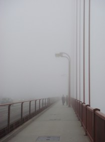 GGB in the Fog - m