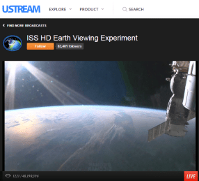 Sunset is near as seen from the International Space Station - live view at http://www.ustream.tv/channel/iss-hdev-payload