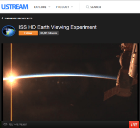 Sunset 3 minutes later as seen from the International Space Station. 3 Minutes? Yes...they are moving at 17,000 MPH - live view at http://www.ustream.tv/channel/iss-hdev-payload