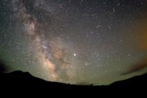 Jupiter, Vesta, and the Milky Way