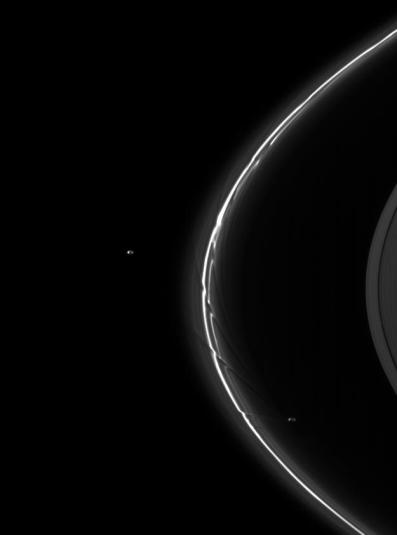 Saturn - A Pair of Shepherds - Pandora and Prometheus