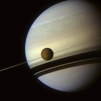 Saturn, Rings and Titan