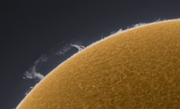 Solar Prominence April 2, 2010
