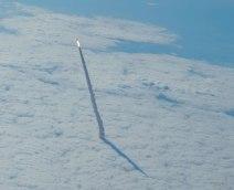 Space Shuttle Rising - May 2011 - photo taken from a NASA aircraft - from http://apod.nasa.gov/apod/ap150524.html
