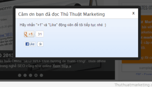 thu thuat marketing - social popup