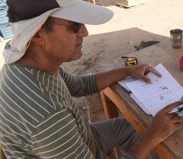 Antonio Guio, arqueólogo