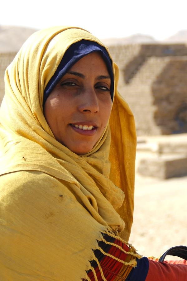 Fatima Khairi Mohammed Conservadora restauradora Patrimonio Arqueológico MOA