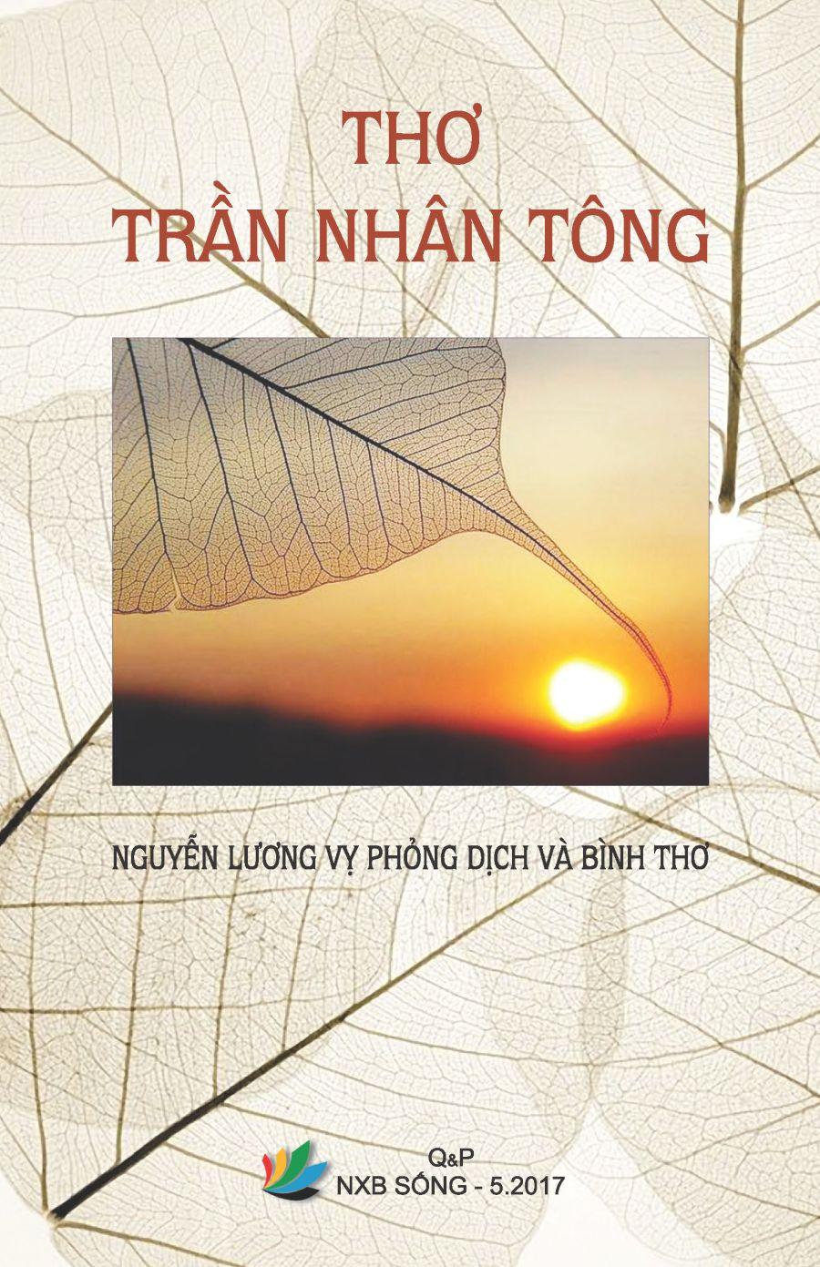 Bìa sách Thơ Trần Nhân Tông