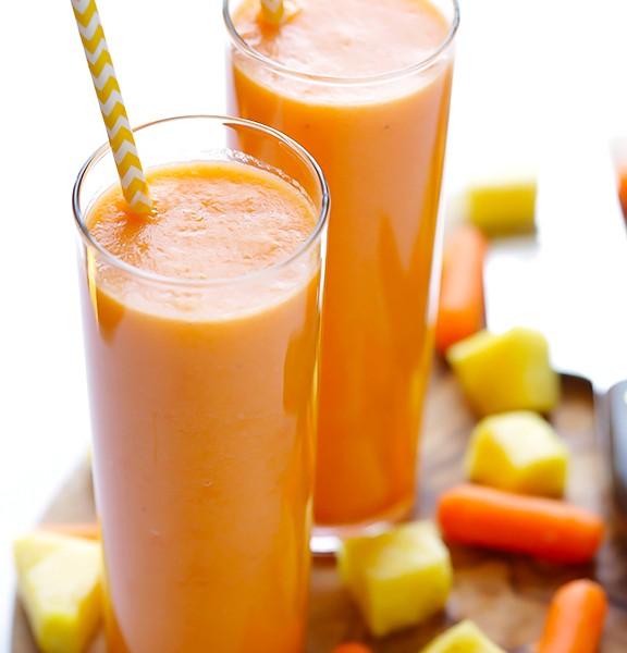 nước ép cà rốt thơm