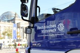 Der neue GKW vor dem Reichstagsgebäude