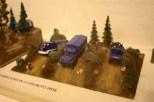THW-Fahrzeuge im Gelände als Modell. Foto: THW/Jan Holste