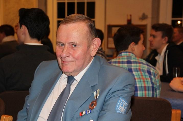 Joachim Bonack wurde mit dem THW-Ehrenzeichen in Bronze geehrt.