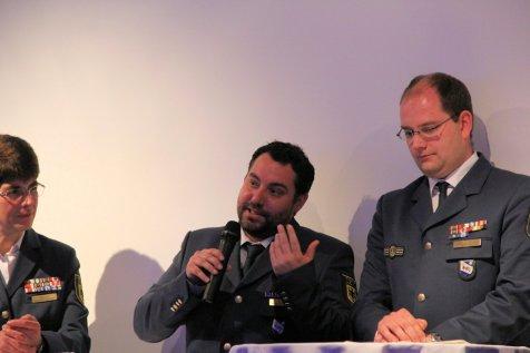 Vorsitzender des Helfervereins Robert Koch. Bild:THW/Paul Jerchel