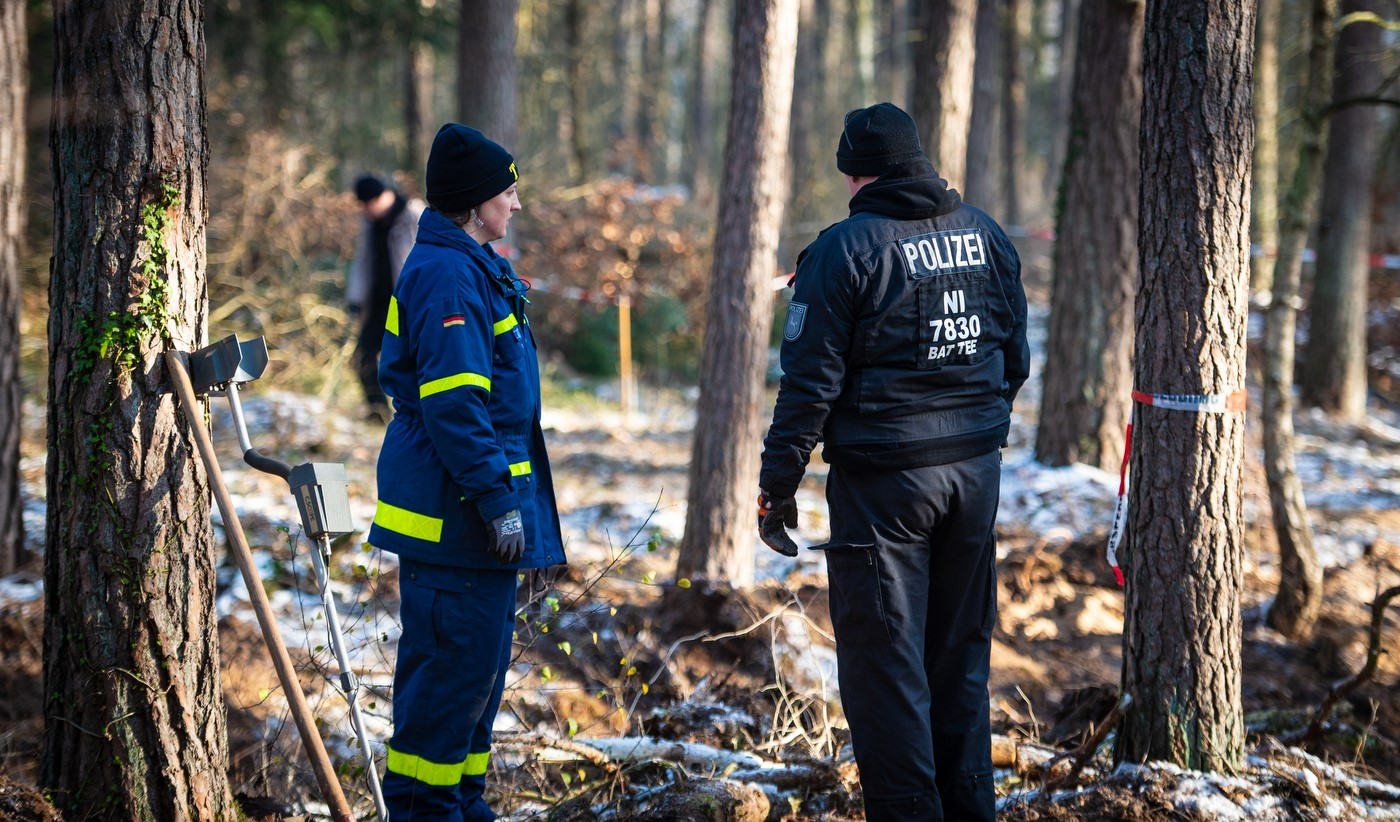 Unsere Ortungsgruppe unterstützt die Polizei in Niedersachsen