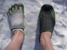 Winter Barefoot Running Shoes