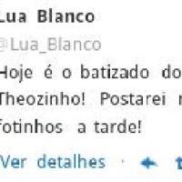 Lua Blanco publica foto no Twitter do irmãos junto com o sobrinho: ''A melhor parte da vida''