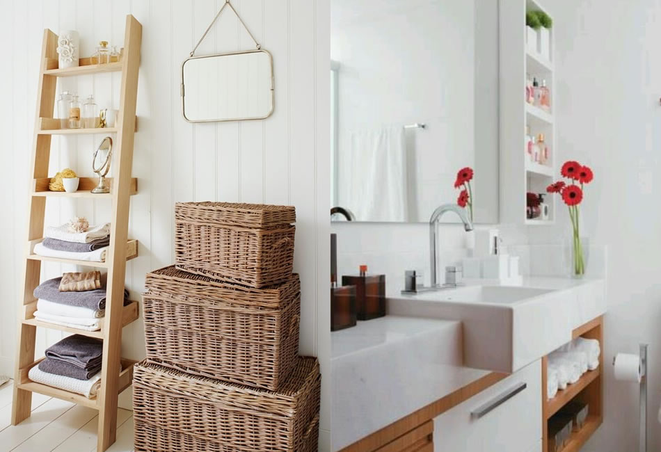 Banheiro Pequeno  5 dicas para decorar  Thyara Porto  Arquiteta -> Banheiro Pequeno Organizacao