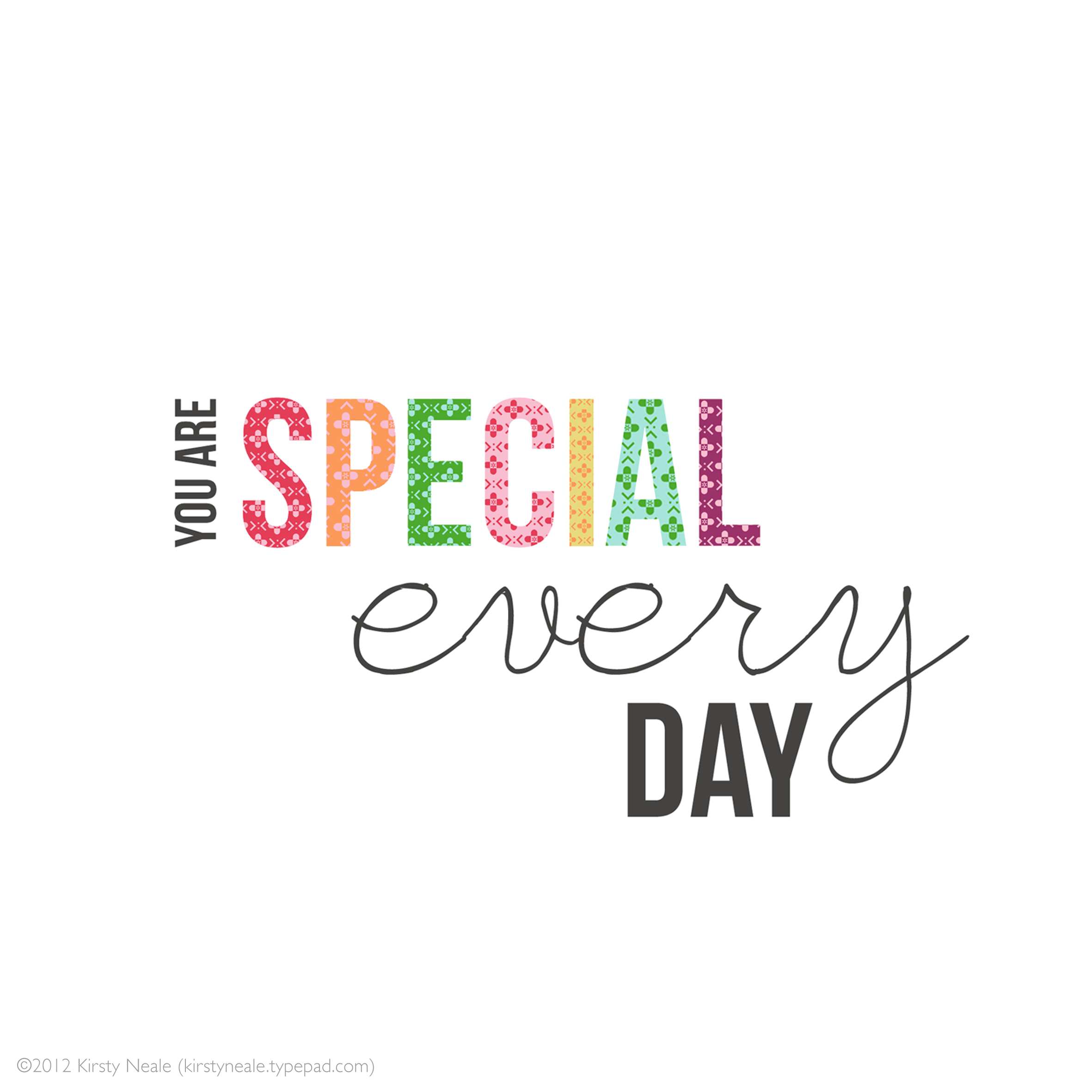 Do you know how special you are? : ThyBlackMan