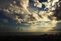 #30dayphotochallenge #day3 #clouds #costadacaparica #sea #miradouro