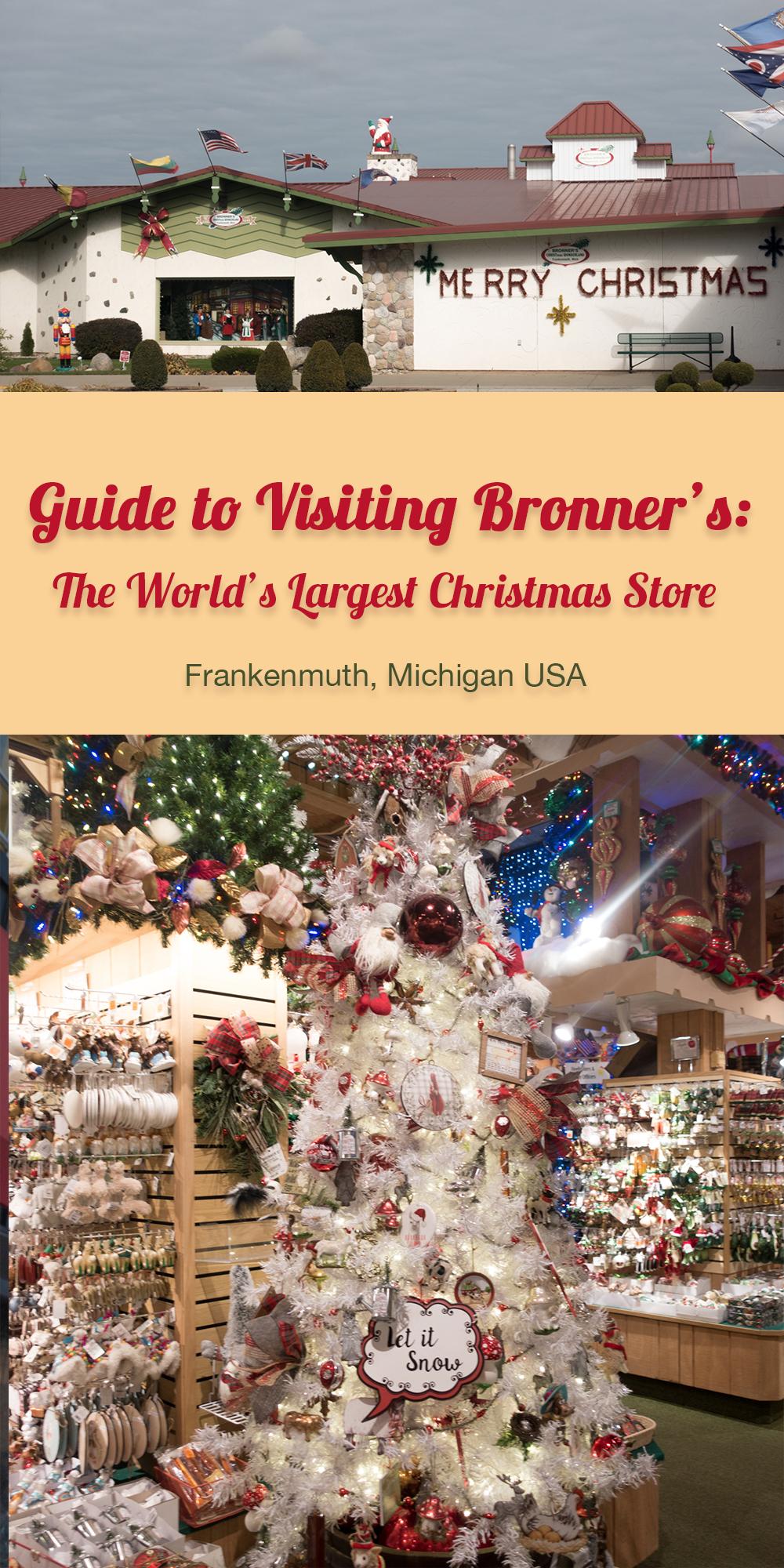 Bronner Christmas Ornaments