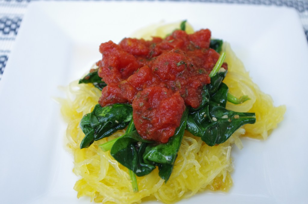 Spicy Chicken Spaghetti Squash