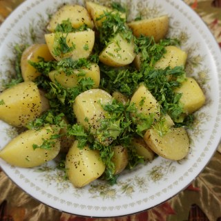 Parsley Potatoes – German Petersilienkartoffel